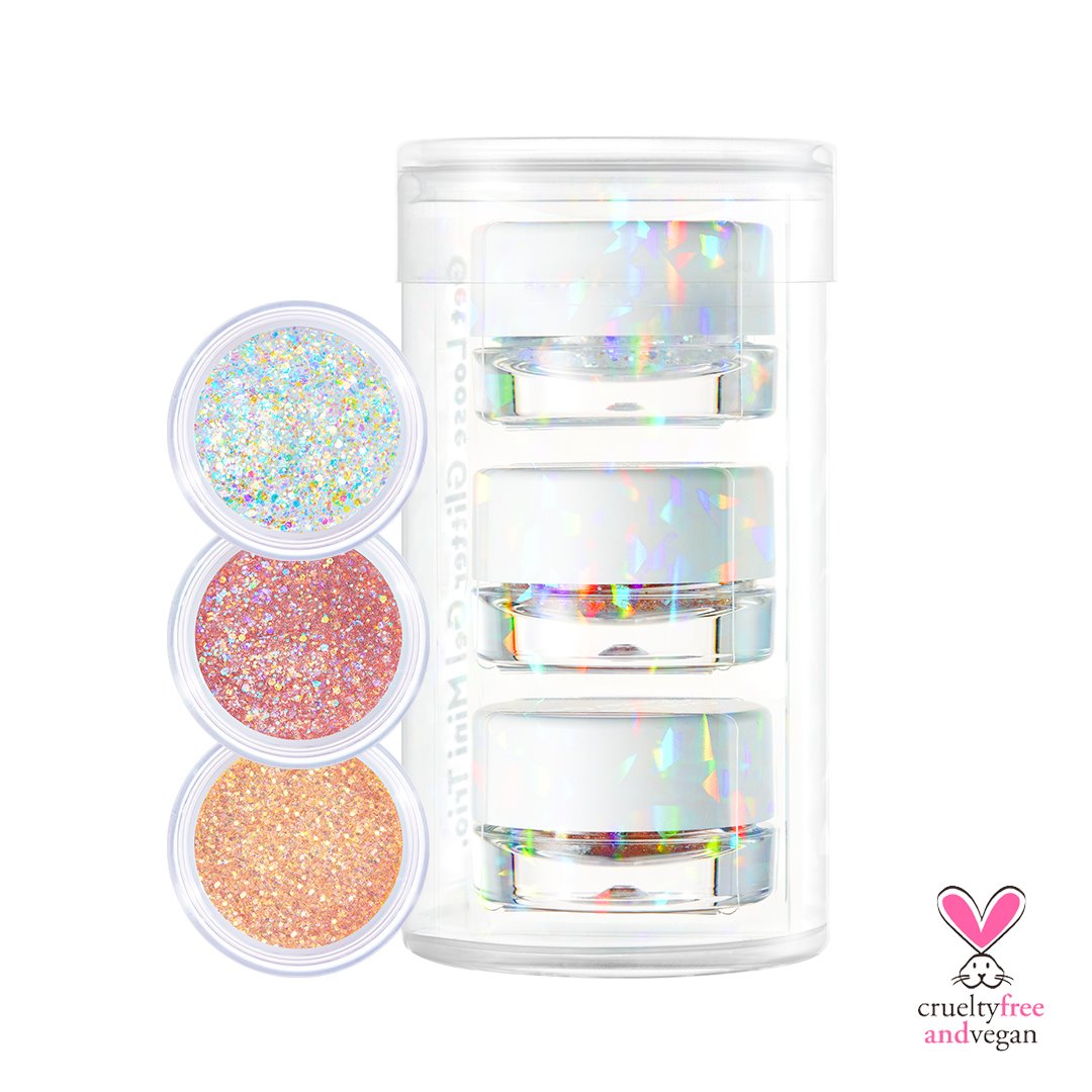 🔥HOT🔥 Get Loose Glitter Gel  Mini Trio